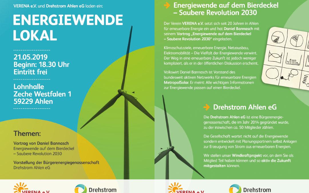 Infoveranstaltung: Energiewende Lokal